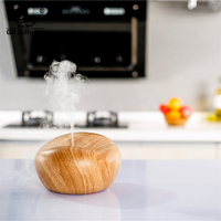 2015 Hot Sale Ultrasonic Air Humidifier Electric Aroma Diffuse Essential Oil Wood Aromatherapy Purifier Mist Maker