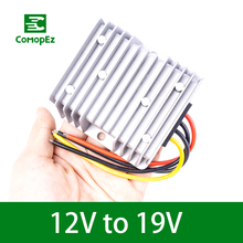 DC DC Converter 12V Step Up to 19V 3A 5A 8A 10A 15A Voltage   Converter  Power Supply Boost Module Water Pumps Led Light converter dc 12v 9v 27v step up to 28v 8a 224w dc dc waterproof boost power module power supply adapter voltage regulator