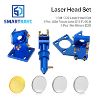 K Series: CO2 Laser Head Set for 2030 4060 K40 Laser Engraving Cutting Machine