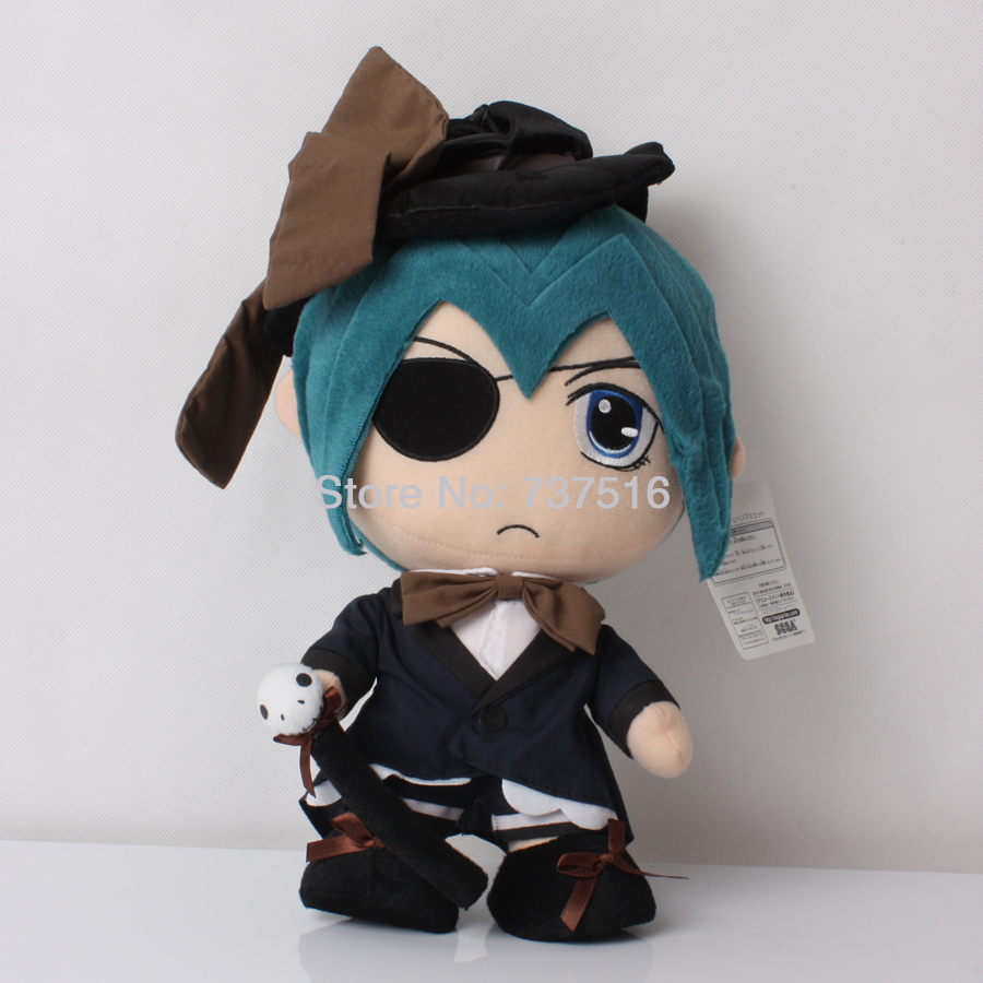 Black Butler 12 Ciel Phantomhive Japanese Anime Figure Plush Soft Toys New Stuffed Animal Dolls