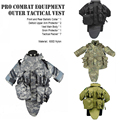 New OTV Tactical Vest Body Armor With Pouch/Pad Size LARGE ACU Digital