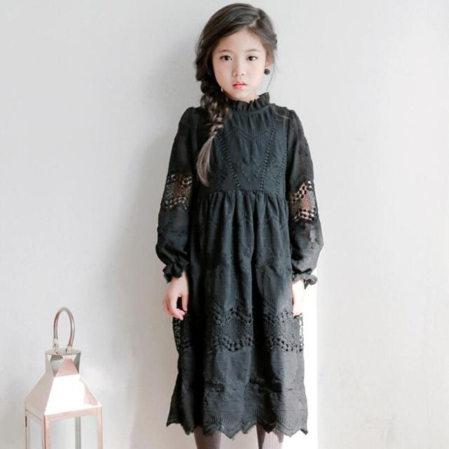 00401fcd4 Good Quality 2019 Spring Fall Toddler Teen Girl Lace Princess Dress ...