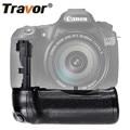 Travor vertical Battery Grip Holder for Canon 60D 60Da DSLR Camera Replacement BG-E9 work with LP-E6 battery