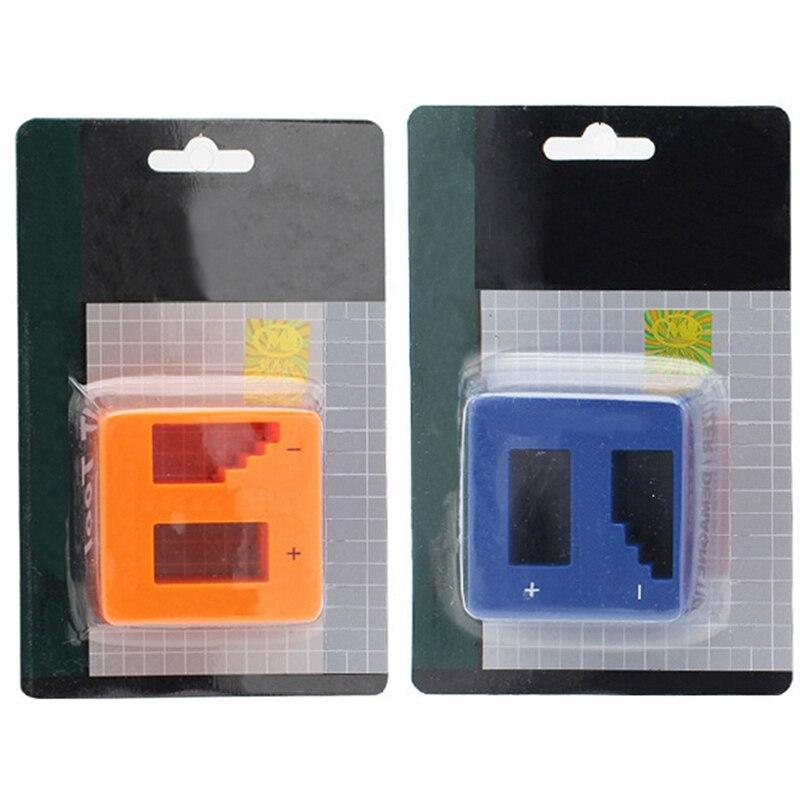 Urijk 1Pc Mini Magnetizer Demagnetizer Degausser Portable Screwdriver Drill Head Bit Electric Metalworking High Quality Hot Sale