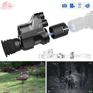 Image 4 - PARD NV007 200m Range Digital Hunting Night Vision Scope Rifle Optics Infrared Night Vision Riflescope Sighting Camera WIFI APP