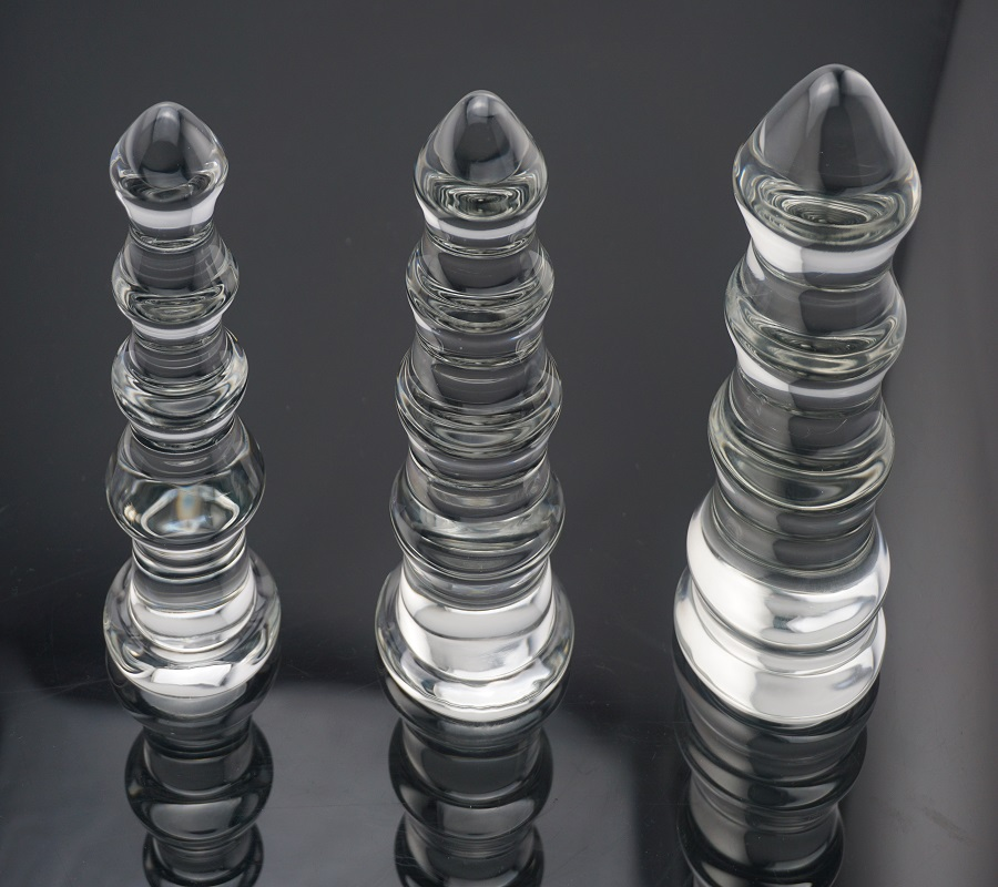 Dia 32mm to 65mm for choose New hot large pyrex crystal glass huge anal beads butt plug dildo fake penis sex toys for men women waterproof super big 16 7 5cm pyrex glass dildo crystal penis long glass sex toys large anal plug butt beads unisex anus balls