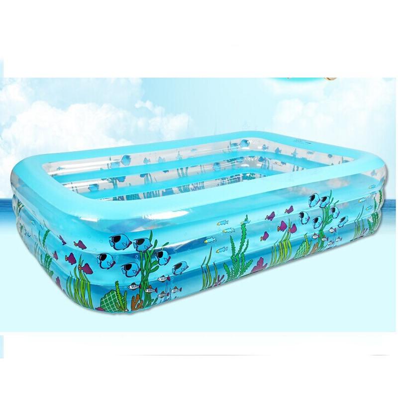 Swimmingpool aufblasbar rechteckig  Online-Shop Hohe Qualität Erwachsene Familie kinder Aufblasbarer ...