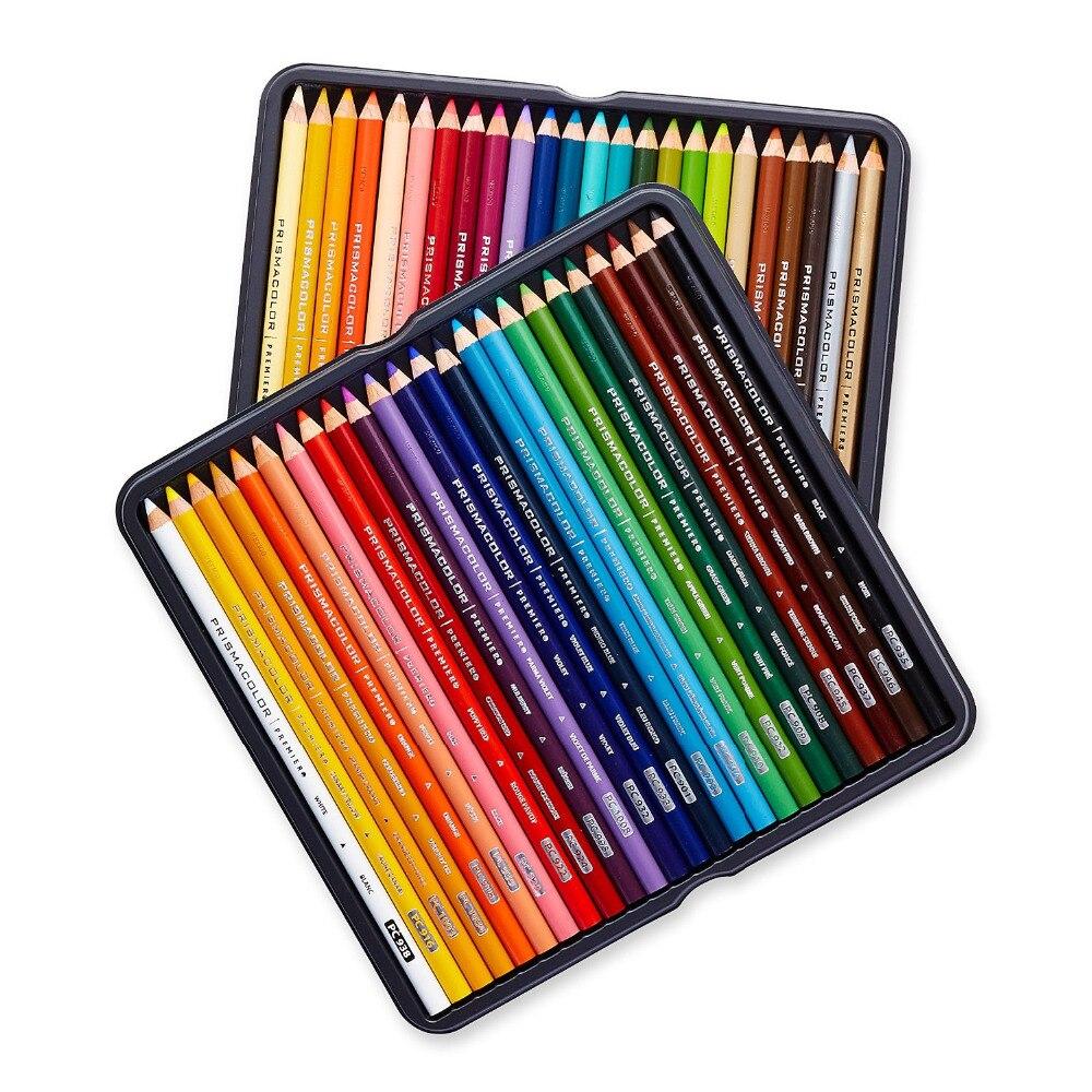 The item for sale is premier set of 5 coloured flexible chopping - Aliexpress Com Buy Sanford Prismacolor Colored Pencils Crayons De Couleur Soft Core 48 Pcs Coloring Book Pencil Sets Lapis De Corart Supplies From