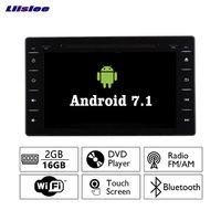 Liislee Android 7.1 2G RAM For Toyota Hilux 2016~2017 Car Radio Audio Video Multimedia DVD Player WIFI DVR GPS Navi Navigation