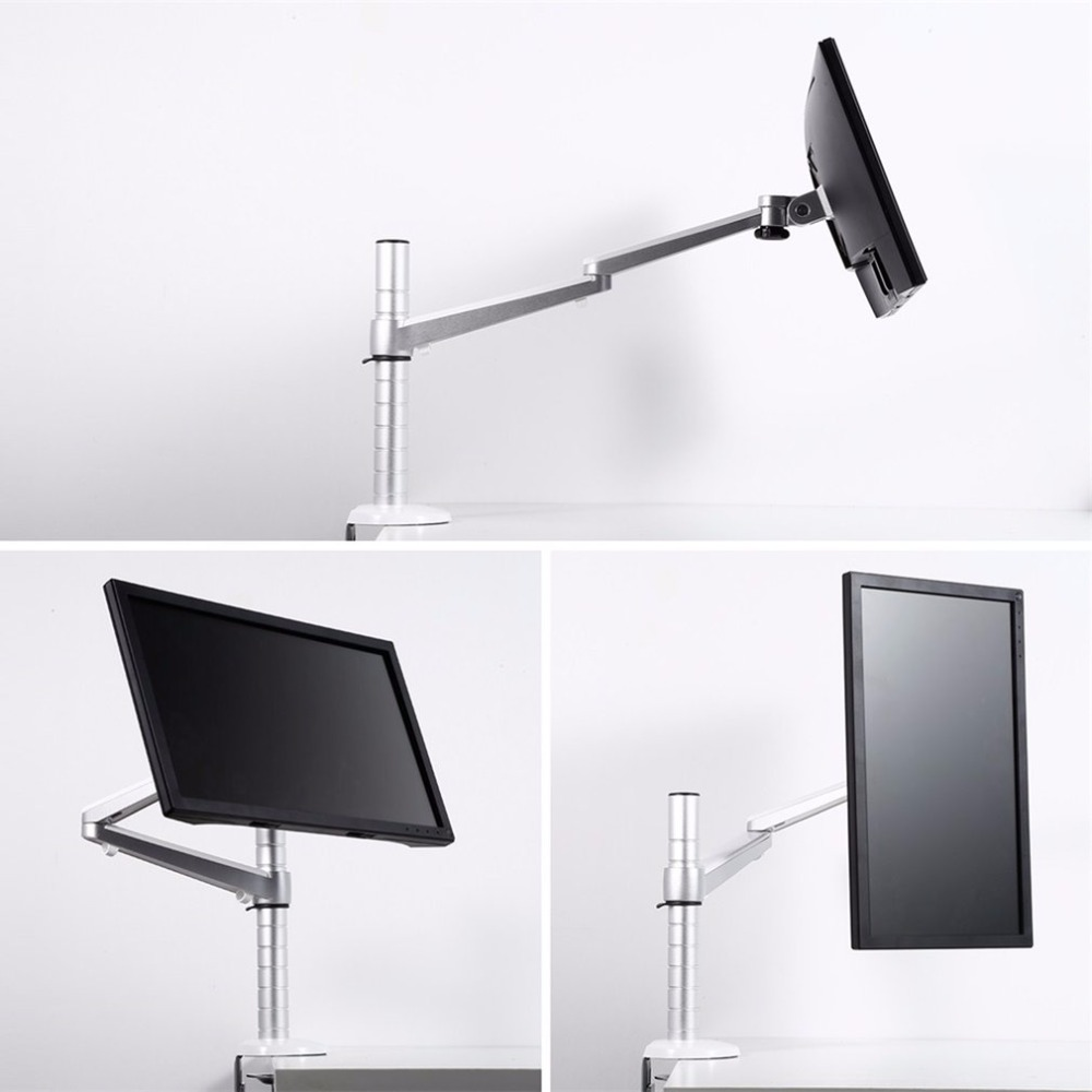 OA-3S Laptop Stand Aluminum Height Adjustable Lapdesks Universal Rotation Arm Holder for Notebook and 7-10 inch Tablet PC visual communication spotlights for exhibition and trade fairs 40cm long arm and 30cm extra height