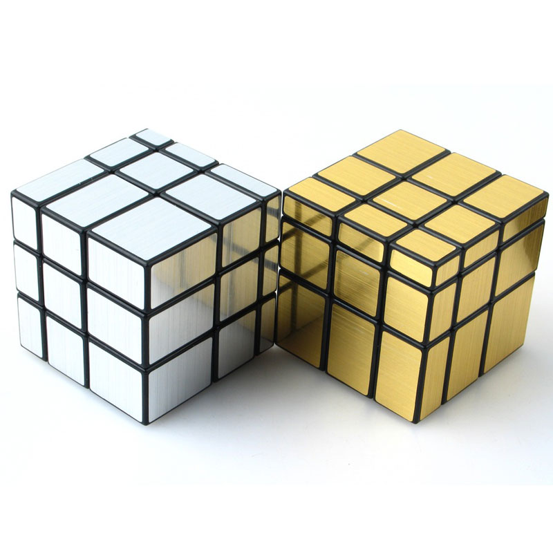 Strange Shape 3 Layers Mirror Magic Cube Puzzle Toy Magic Cast Coated Cube Toys For Children Kids Educational Gift Toy enlightenment educational cube children toy