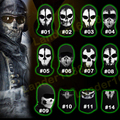 Original Balaclava Ghost Masks Skull Paintball Outdoor Hats Army Motorcycle WarGame Airsoft Military Tactical Full Face Mask