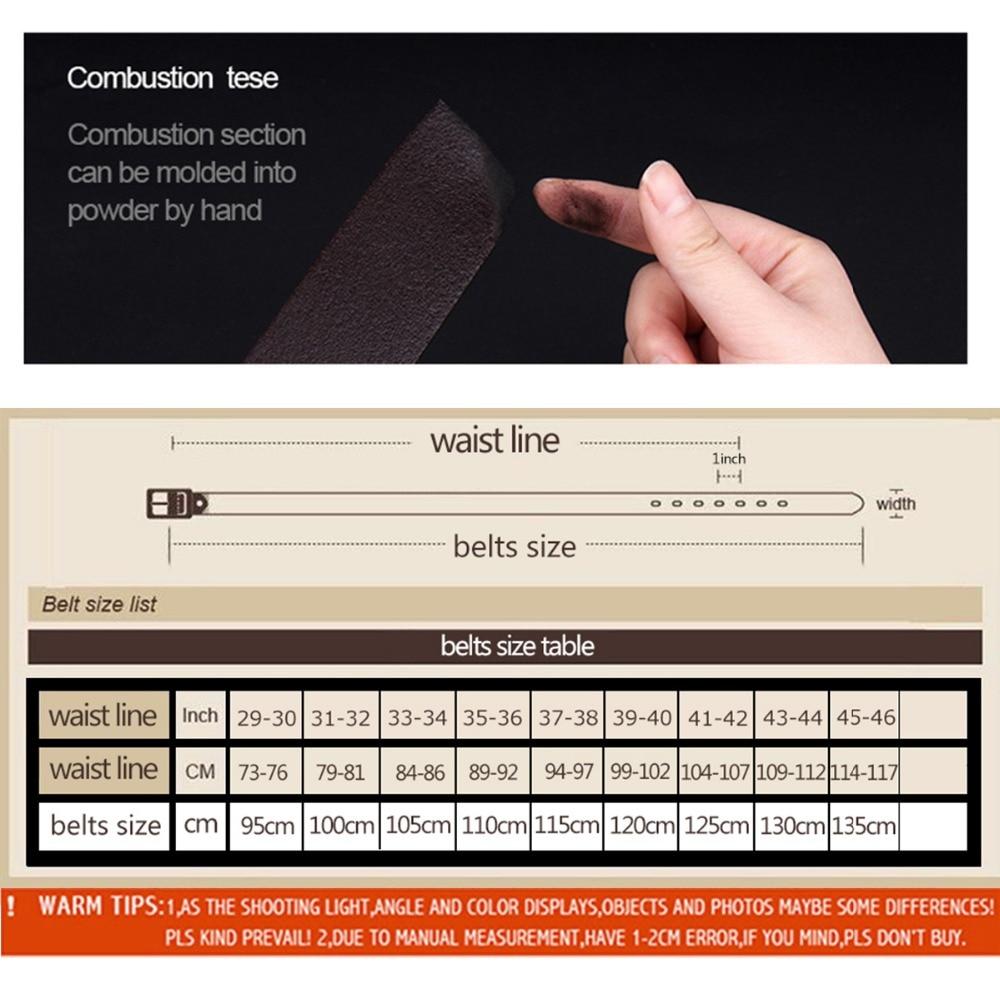 Cinturones para hombre Cinturones de alta calidad para hombre - Accesorios para la ropa - foto 6