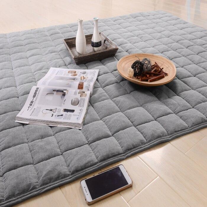 Tatami Matte carpet rugs mat tatami mat cotton children crawling home bedroom