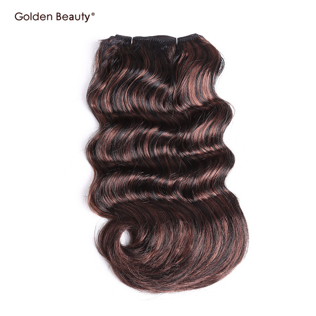 Golden Beauty 12inch Synthetic Weave Noble Gold Hair Extensions