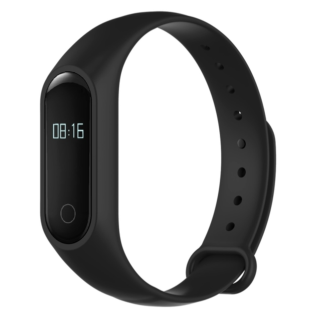 Original OUKITEL A16 Smart Bracelet Wristband Fitness Tracker IOS Android Smartband Heart Rate Monitor Calories Drink Reminder