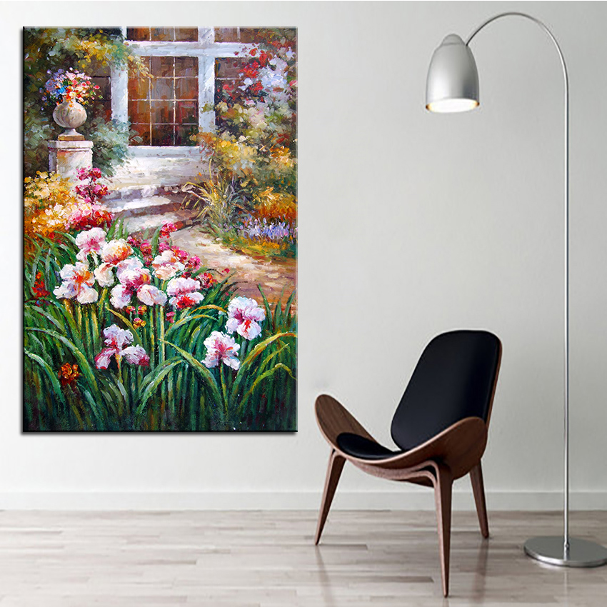 Extra Large Wall Painting Of Orchis Home Office Decoration