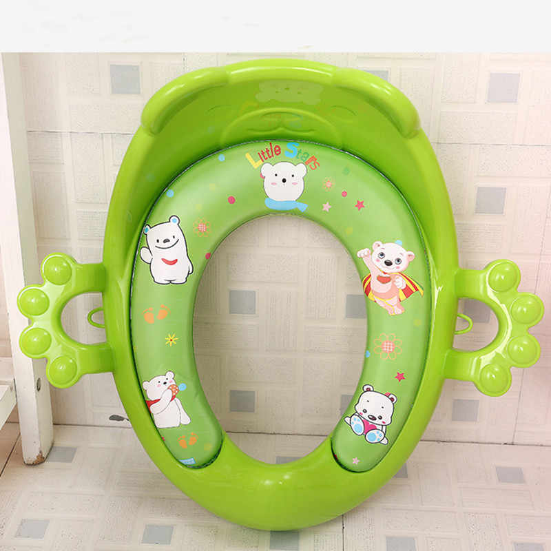 Baby Toilet Seat Potty training for Children with Armrests for kids with flexibility to adapt to different WC universal