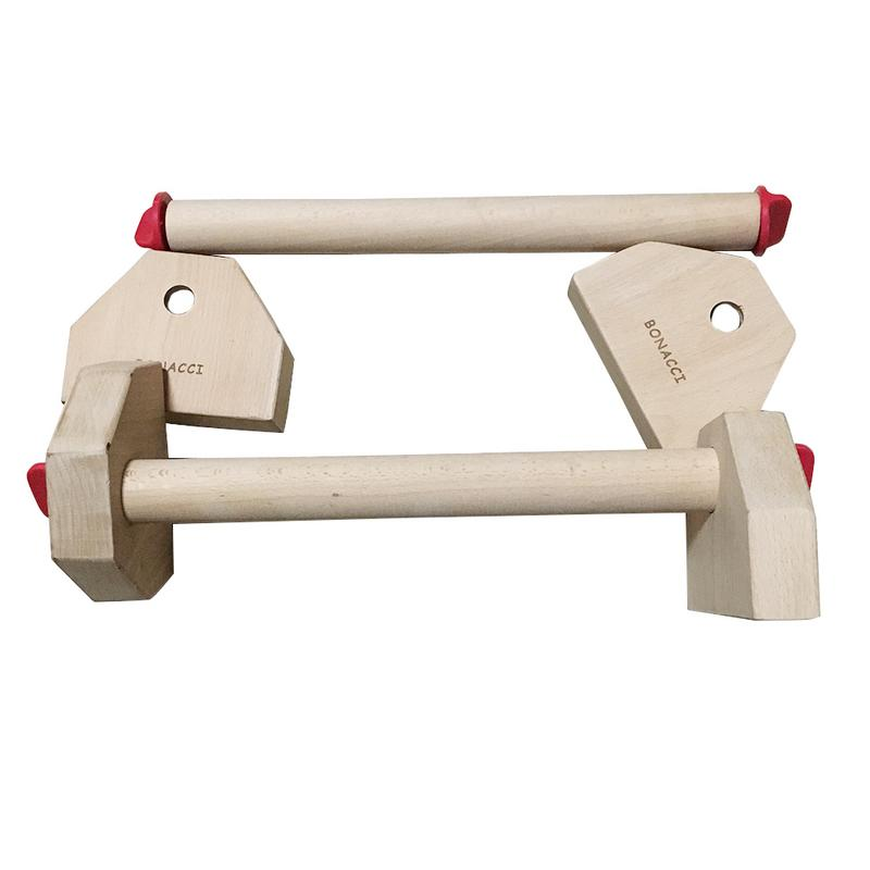 Russian Style Fitness Equipment Detachable Combination Stretch Stand Wooden Single Double Bars Calisthenics Handstand Push Ups