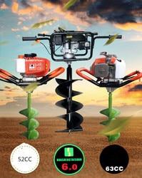Машина для расточки и копания грунта, машина для бурения бензина, машина для посадки отверстий, свайная машина, машина для бурения льда, почв...