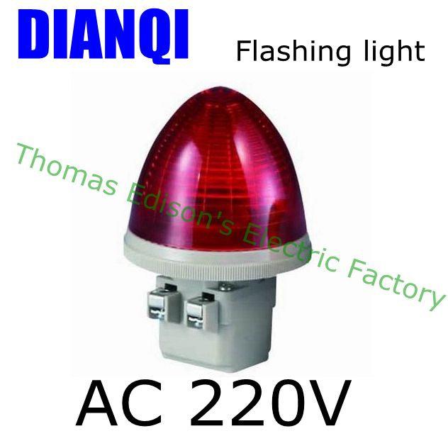 AC 220V 2 Screw Terminals Red LED flashing light Industrial Signal Light Tower Lamp S-TX-F askent s 7 1 tx page 2