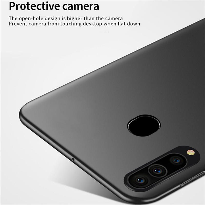 Image 5 - For Samsung Galaxy A60 Case Silm Luxury Ultra Thin Smooth Hard PC Phone Case For Samsung Galaxy A60 Cover For Samsung A60 Fundas-in Fitted Cases from Cellphones & Telecommunications