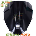 Windscreen Windshield preto Da Motocicleta Para Ducati 848 1098 1098RS 1198 1198RS Motocross Dirt Bike Moto Frete Grátis