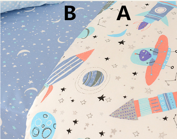 4pcs Childrens Cartoon Moon Stars Printing Cotton Fabric For Sewing Patchwork Baby Doll Cloth Fat Quarter Quilting 50*40cm Arts,crafts & Sewing Apparel Sewing & Fabric