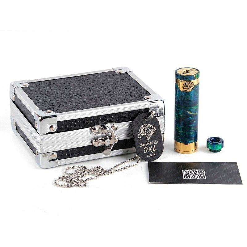 D'origine SMOKJOY Honneur Résine Mech Mod E-Cigarette Boîte Vaping Mod Cigarette Électronique Mods Vaporisateur Mech Mod 18650 Mécanique Mods