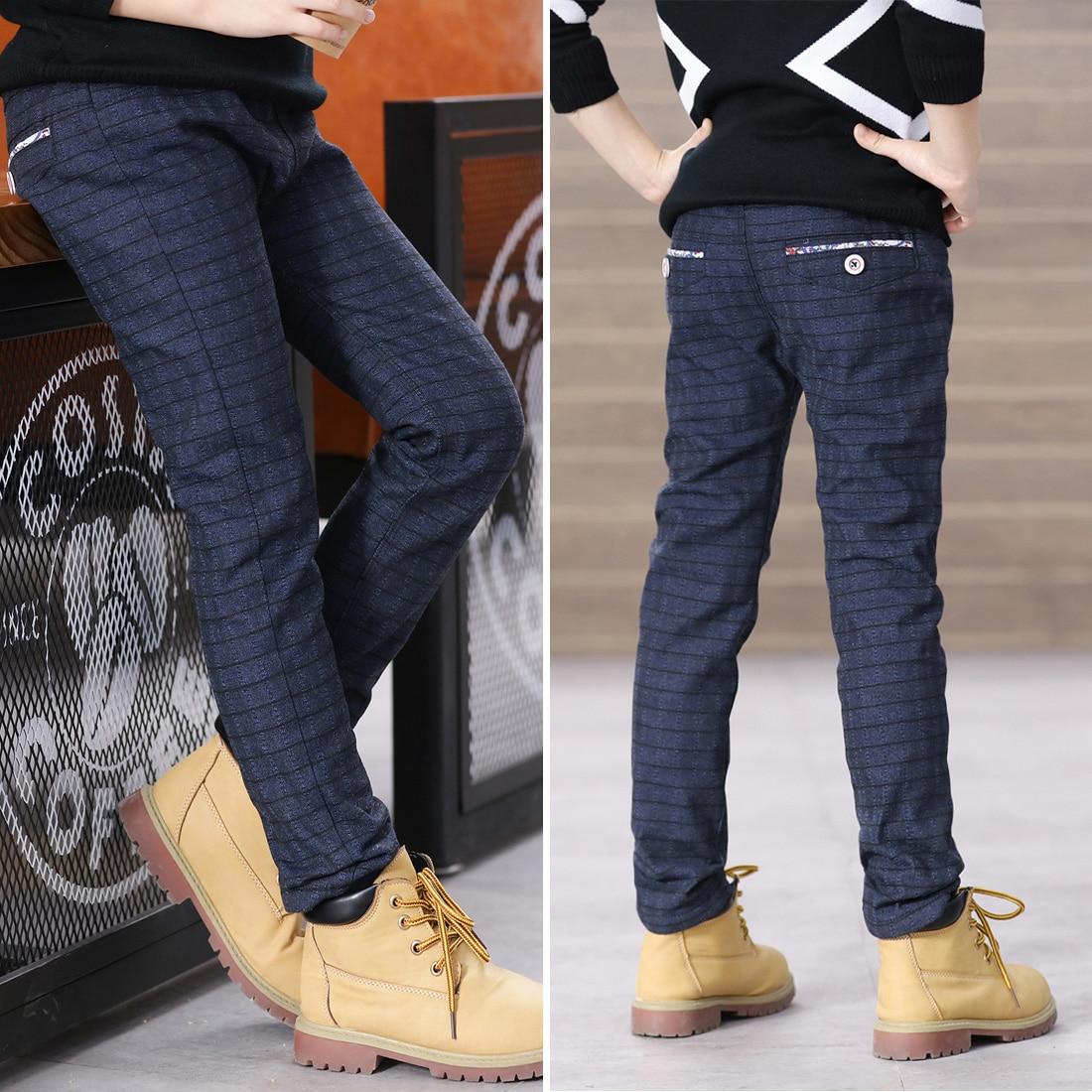 Plaid Boys Straight Pants Trousers Full Length Casual Pants Kids Trousers Boy Pants Kids Toddler Pants Cildrens Plaid