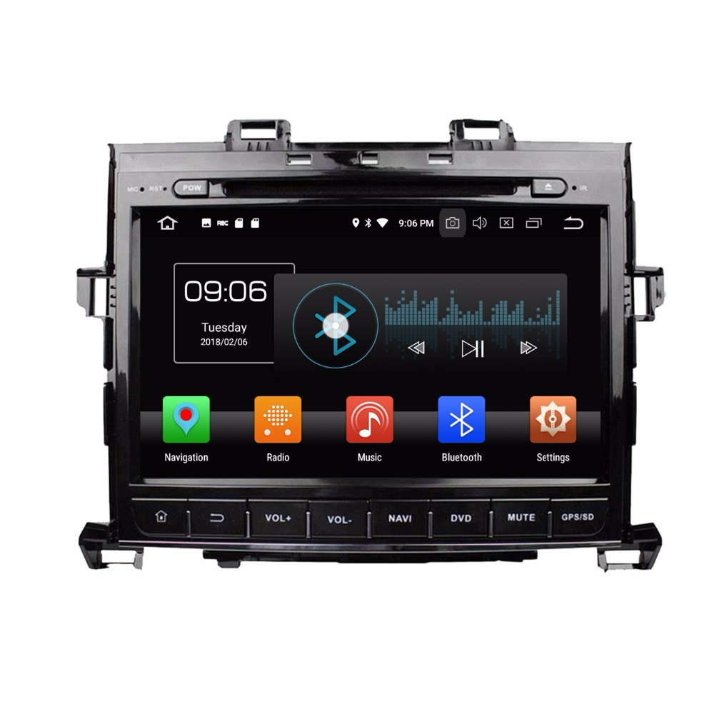 Android 8 0 Octa Core 9 Car DVD Multimedia GPS for Toyota Alphard 2007 2013 With
