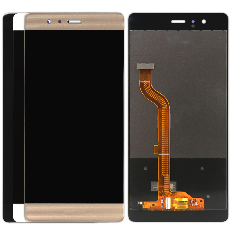 Подробнее о High Quality New LCD Display+Digitizer Touch Screen Glass Assembly For Huawei P9 Cellphone Black White Gold free dhl 5pcs high quality lcd display digitizer touch screen glass assembly for huawei p9 lite g9 black white gold with frame