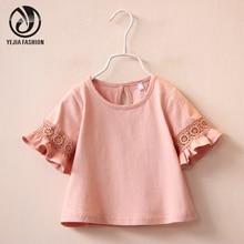 Блузка для девочек White Pink Summer