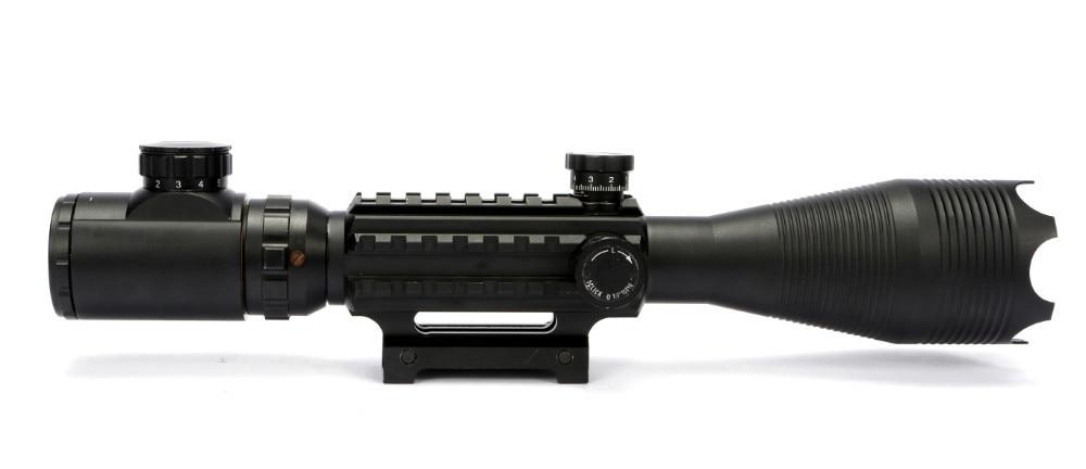 ФОТО Rifle scope 4-16x50EG Red Green Dot Reflex Sight r gun sight riflescopes LLL night vision scopes for hunting