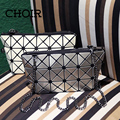 Мода геометрическая концепция женщины малый сумка Issey женщины цепь дизайнерские сумки для девочек кошелек сак главная femme de марка