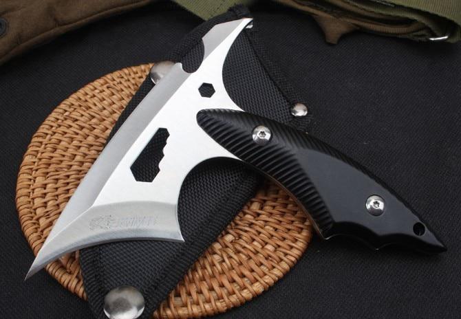 Trskt Многофункциональный топор, охотничий кемпинг спасательный Открытый Топор головка g10 ручка, инструмент для сбора