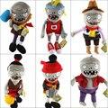 Chegada nova Plants vs Zombies Brinquedos De Pelúcia 30 cm Zumbis PVZ Suave Jogo Estátua Figura Boneca de Brinquedo de pelúcia para As Crianças Presentes Brinquedos Festa