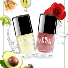 MISS NORA Holographic Color 6ml Gel Nail Polish Varnish Base Coat Top Varnishes Semi Permanent Lacquer Art Set