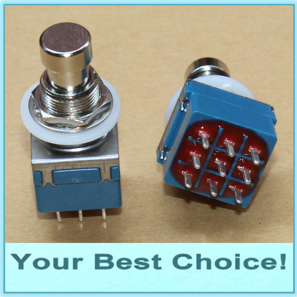 4pdt Guitar Effect Stomp Pedal Foot Switch In Switches From Lights Box Wiring Diagram 5pcs Lot 3pdt True Bypasspcb Lug