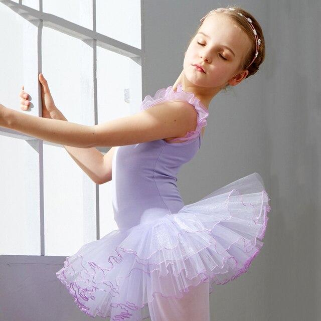 0d8d4b20f 2017 Hot Ballet Dance Dress Girl Kids Performance Costumes Blue Pink ...