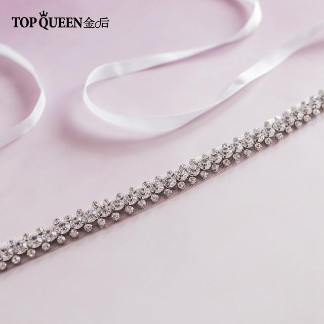 TOPQUEEN S42 Wedding/Bridal  Dresses Belt