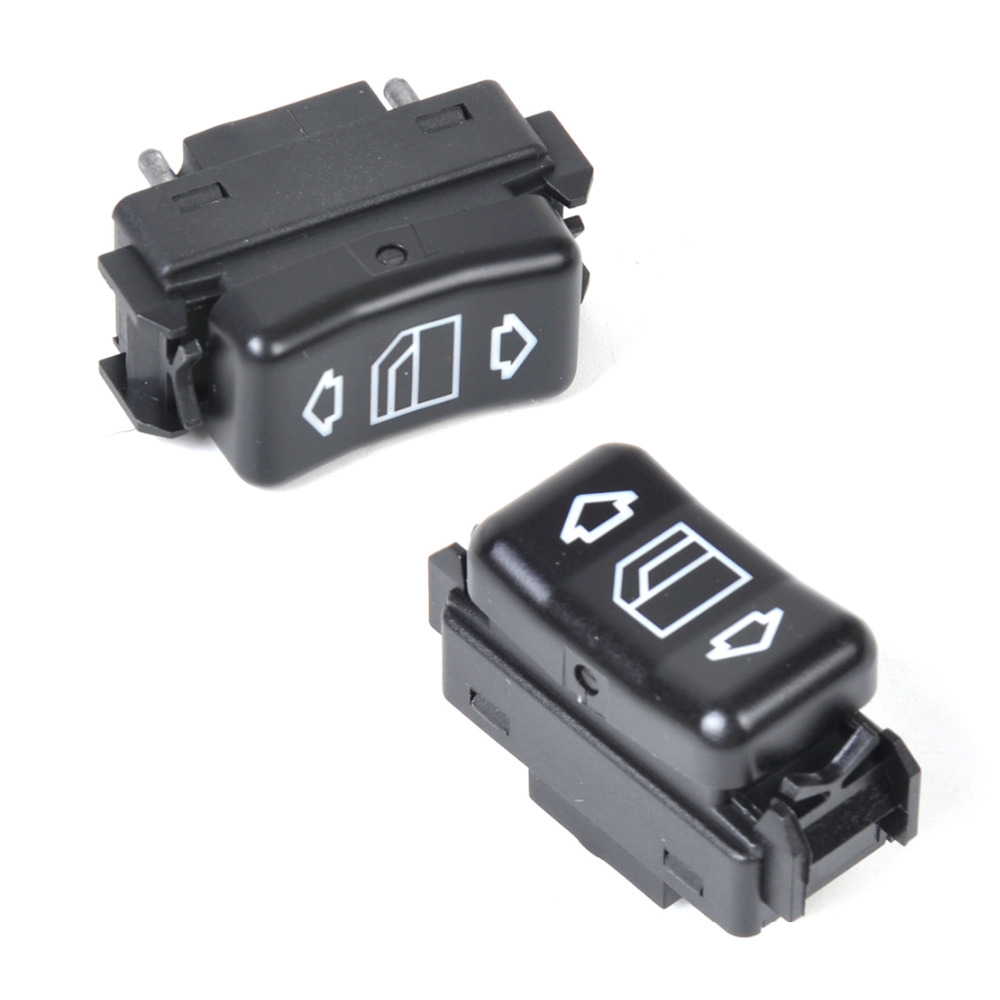 CITALL New Left & Right Electric Master Control Power Window Switch For Mercedes Benz W124 W126 W201 1248204510 1248204610