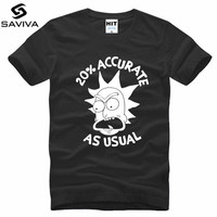 Free Rick And Morty Geek T Shirt Men Women TV Tee Anime Funny T Shirt Cool