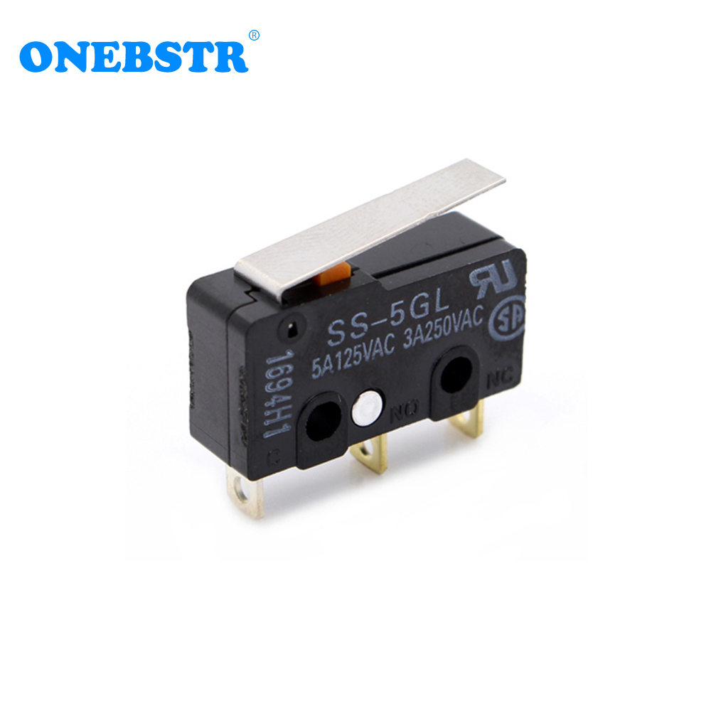 ENDSTOP RAMPS 1.4 OMRON SS - 5GL(Indonesia) Limit Switch Original Micro Switch 3D Printer Accessories Free Shipping