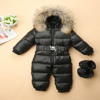 Winter Baby Clothes Unisex Newborn Duck Down Romper Infant Jumpsuit Overol Baby Boy Romper Girl Thick