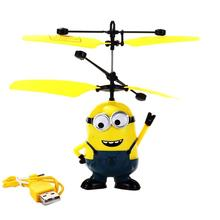 2016 Hot Sale Minions RC Helicopter Movie Character Aircraft Flying Induction Kid Toys RC Plane