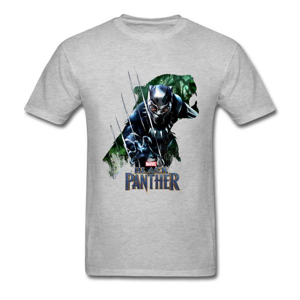 Marvel Película De Cool Blanco Para Pantera Nueva Game Los Hombres Camiseta Vengadores Camisetas 2018 Divertidas Negra Silueta kX8wONPn0