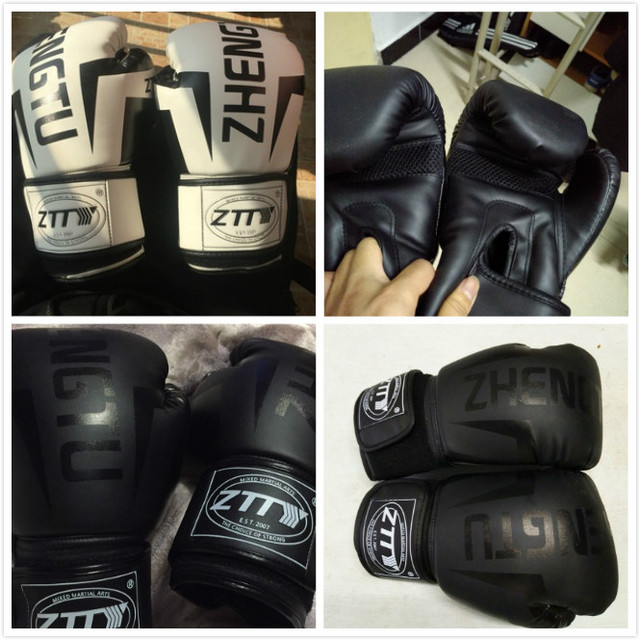 6/8/10/12OZ Kids Women/Men Boxing Gloves Sanda Sparring Muay Thai MMA Karate Punch Training Mitts Kickboxing Boxe De Luva DEO