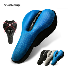 CoolChange Bicycle Seat Cover Sponge Bike Saddle Road Cycling Seat 3 Colors Comfortable Cushion Accessories