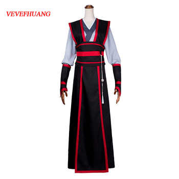 VEVEFHUANG Chinese Anime Magic ancestors COS clothing costumes Wei Wuxian juvenile Yiling ancestors cosplay full clothing - DISCOUNT ITEM  35% OFF All Category